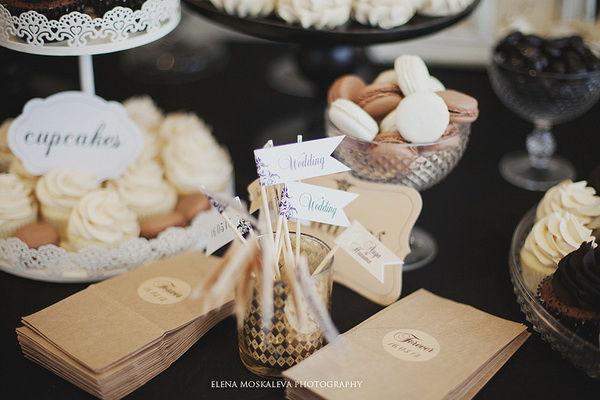 сладкие столы на свадьбе