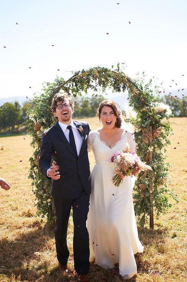 оформление арки на свадьбу