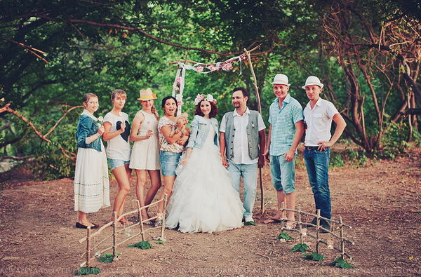 как отметить первую годовщину свадьбы