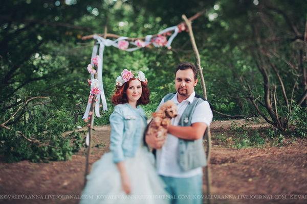 фотосессия годовщина свадьбы 1 год