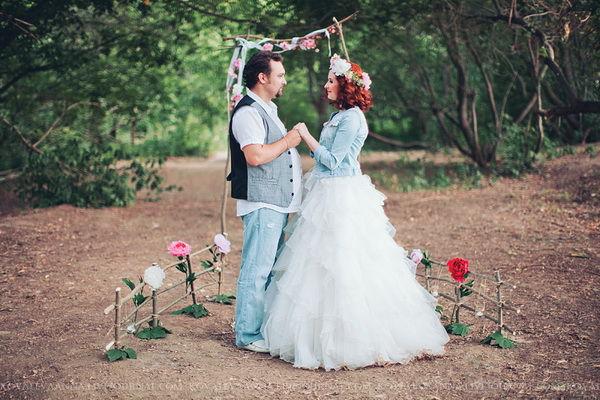 фотосессия на годовщину свадьбы идеи