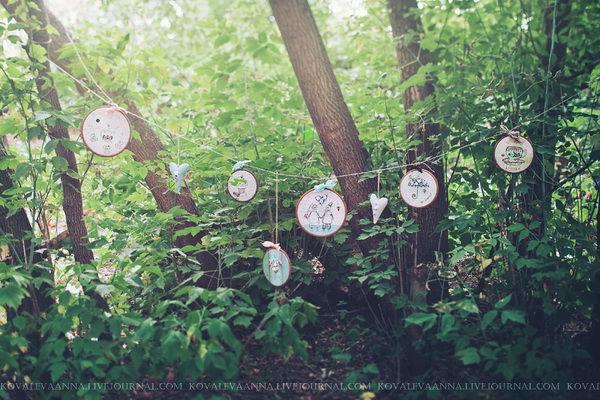 оформление фотосессии на годовщину свадьбы