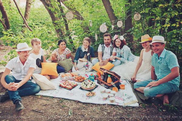 пикник на годовщину свадьбы