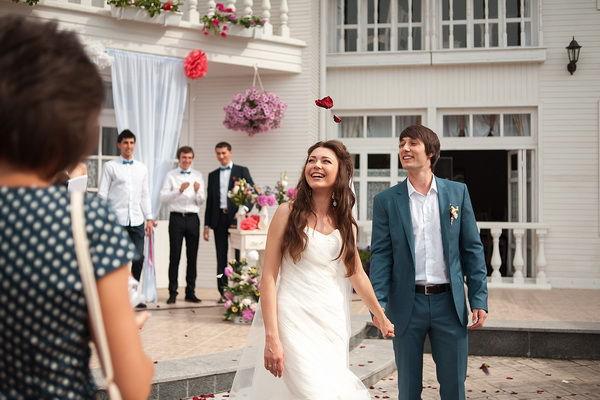 летняя свадьба своими руками