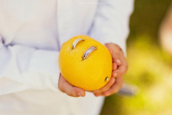 лимонная свадьба фото