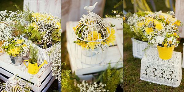 лимонная свадьба оформление