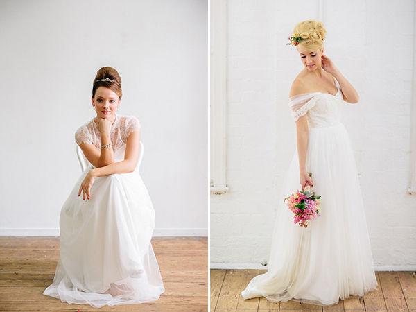невеста в стиле одри хепберн
