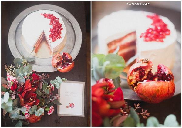 оригинальный свадебный торт