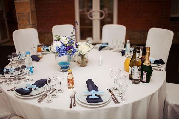 свадебное оформление столов
