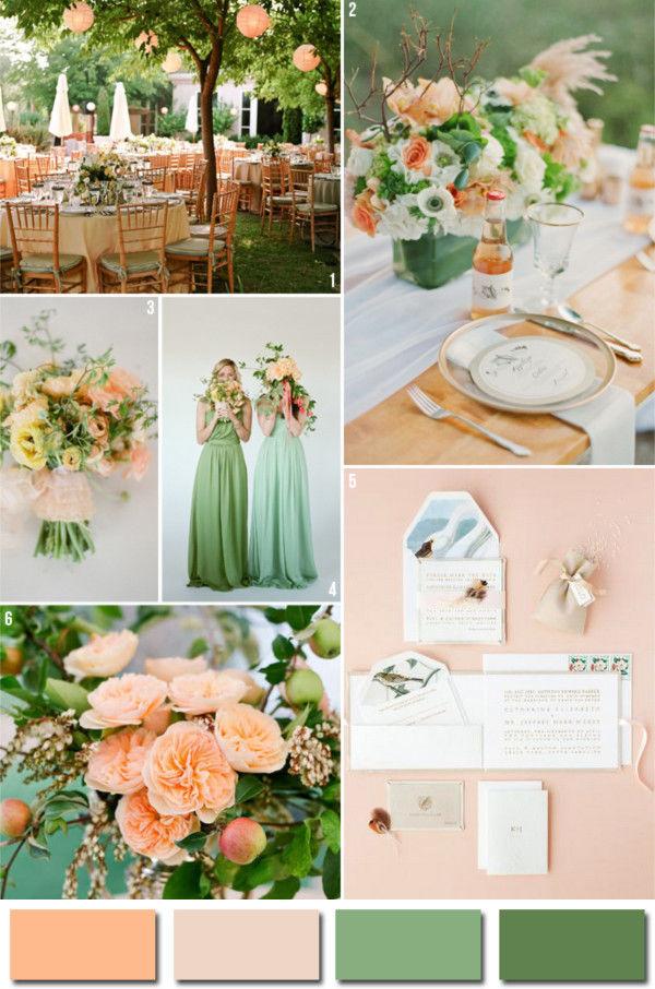 персиковая свадьба