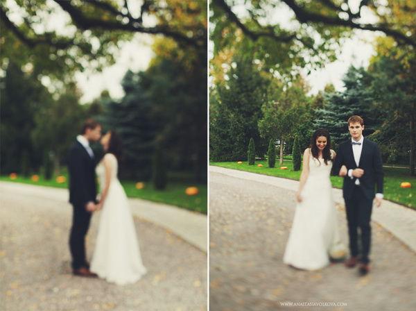 осеняя свадьба