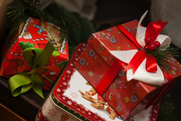 оформление свадьбы на Рождество