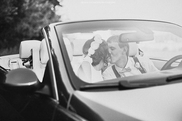 свадебная фотосессия летом
