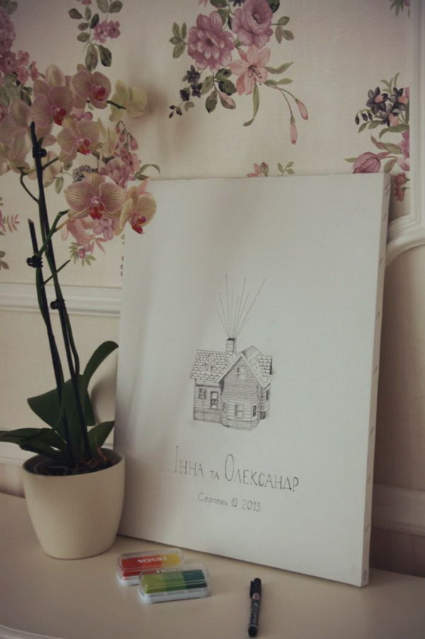 плакат пожеланий на свадьбе