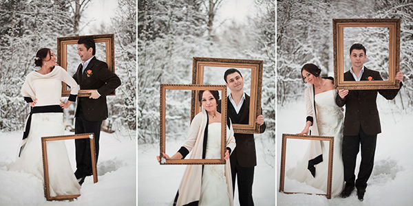 свадебная фотосессии идеи