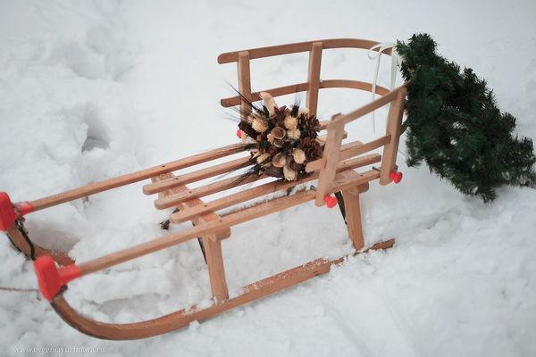 оформление зимней фотосессии
