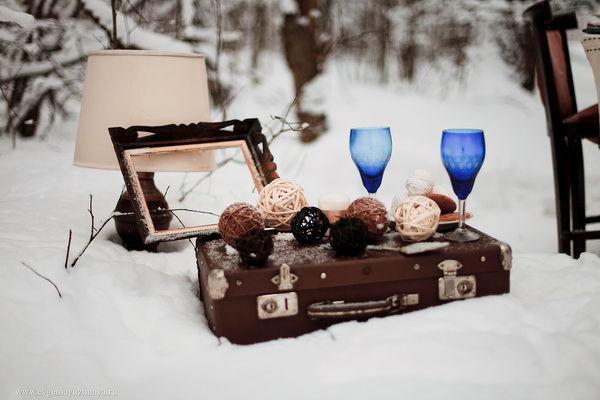 декор зимней фотосессии