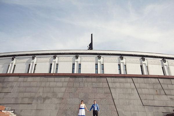 фотосессия  в парке Победы