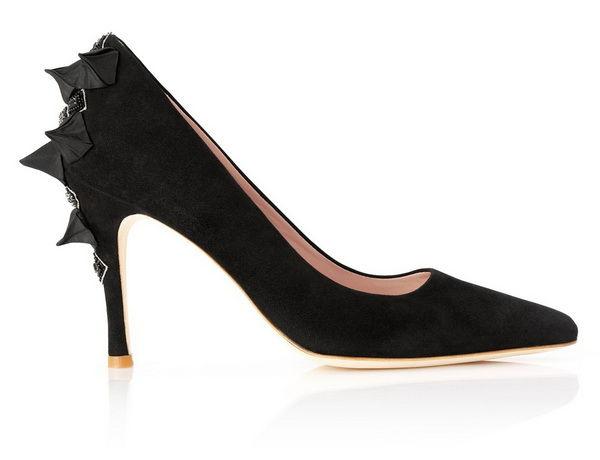 черные свадебные туфли