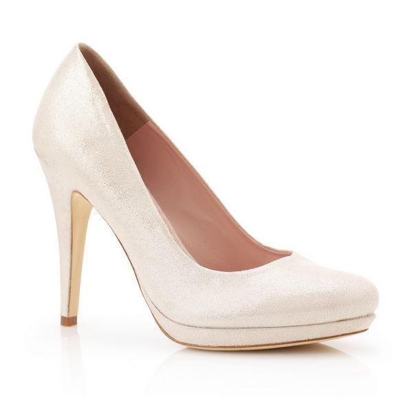 бархатные свадебные туфли