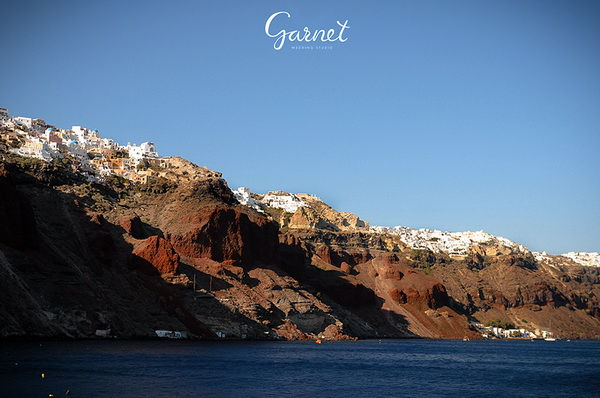 осторов Санторини в Греции