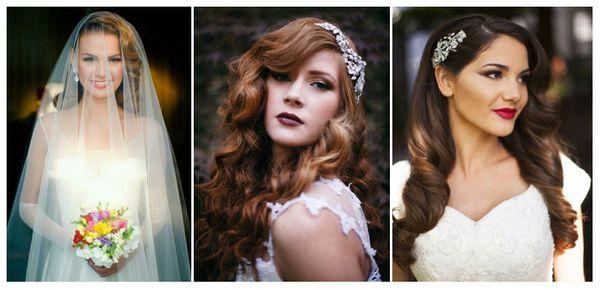 свадебные прически локоны фото