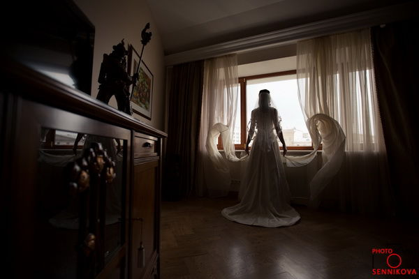свадебное утро невесты