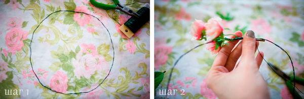 венок из цветов своими руками
