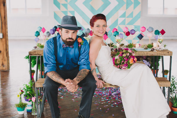 геомтерия на свадьбе