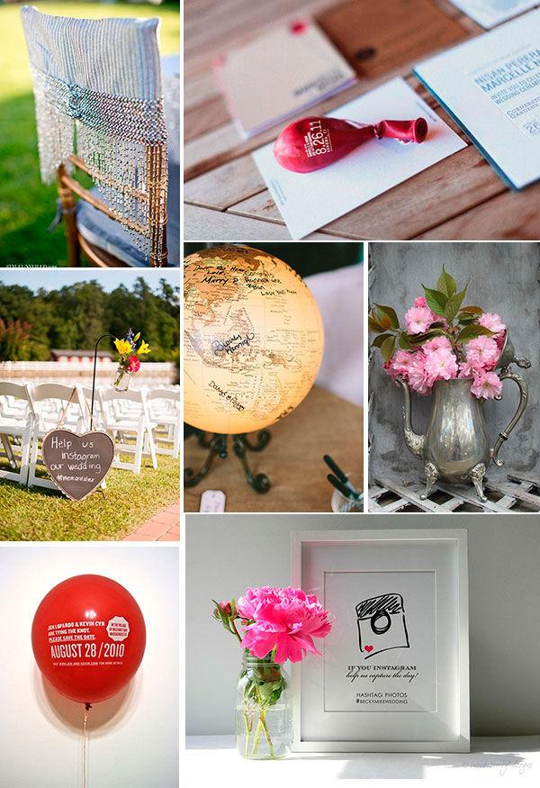 креативные идеи для свадьбы