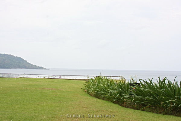 терртиория отеля в Таиланде
