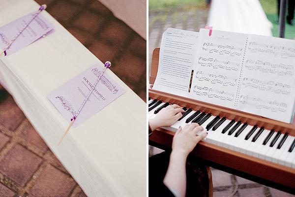 свадьба в музыкальном стиле