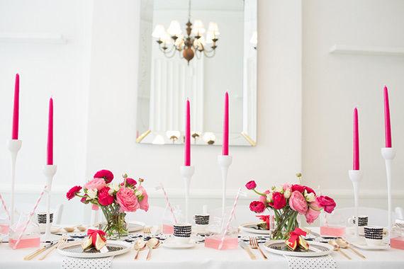 декор свадьбы в розовом цвете
