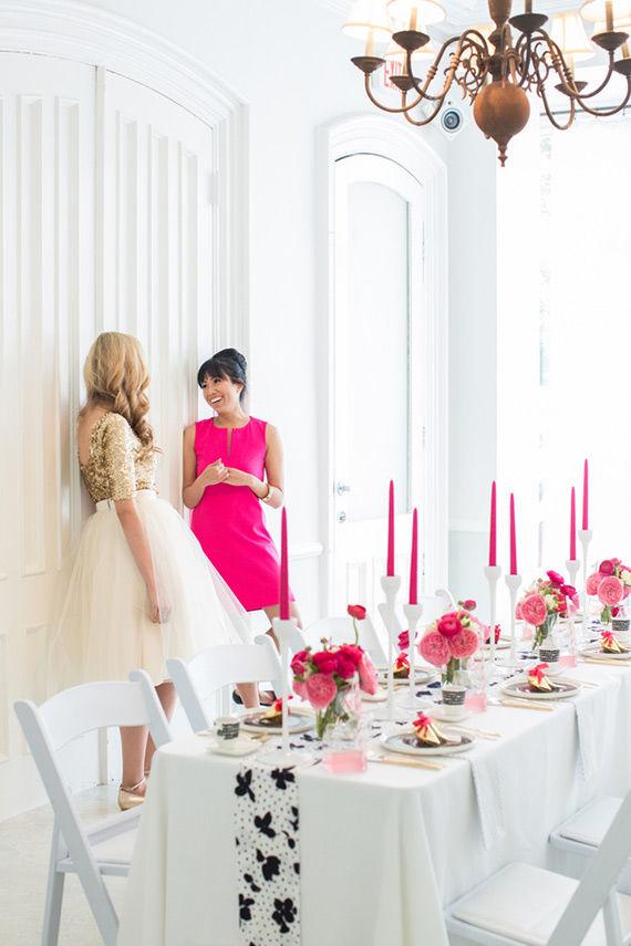 свадьба цвета фуксии