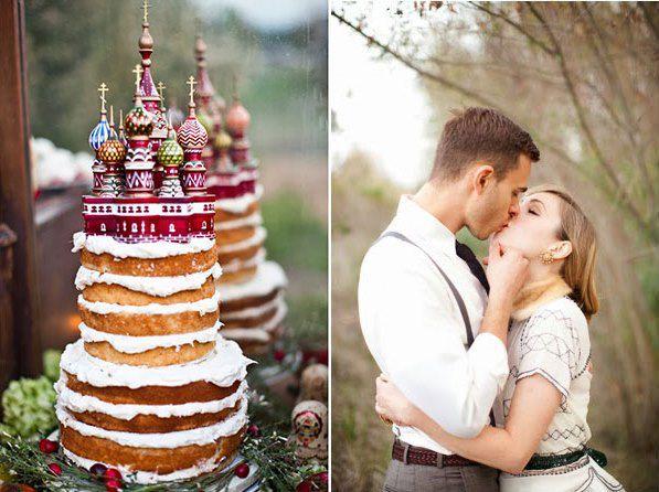современная свадьба в русском стиле