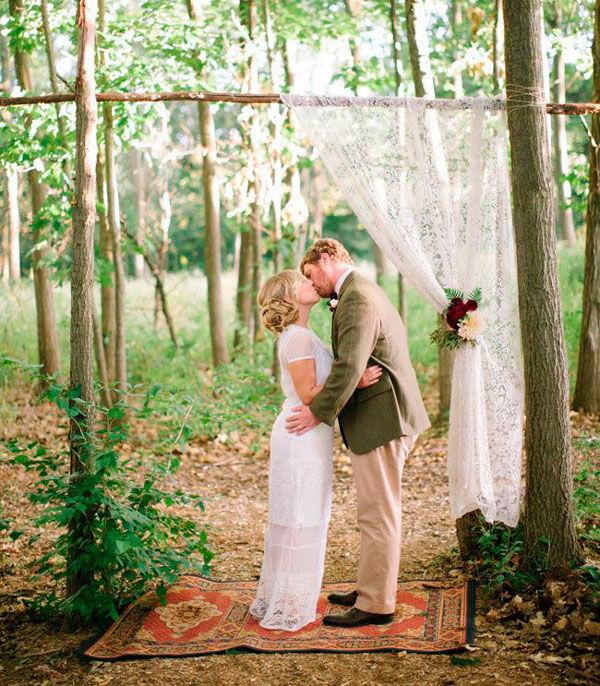 кружево на свадьбе