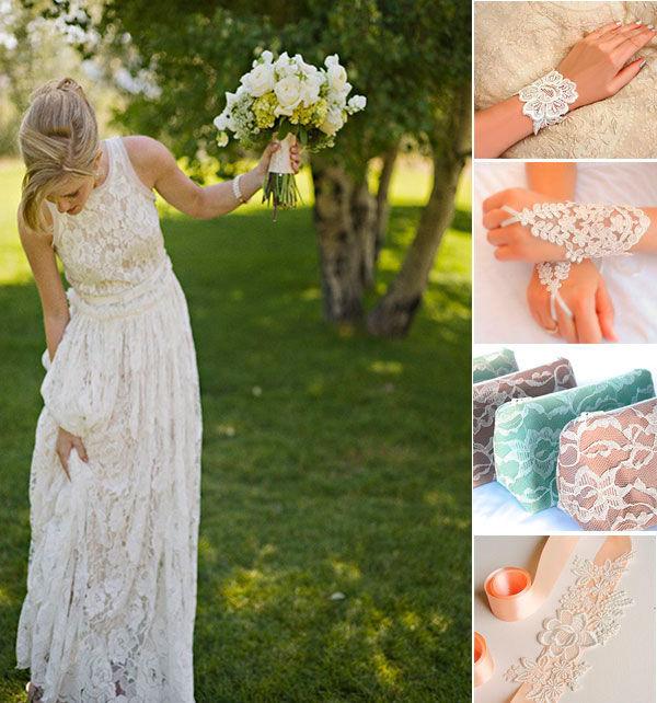 курежевное свадебное платье