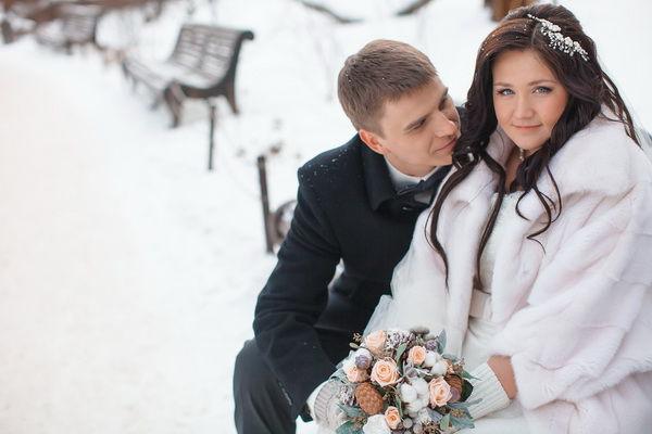 свадьба зимой идеи для фотосессии