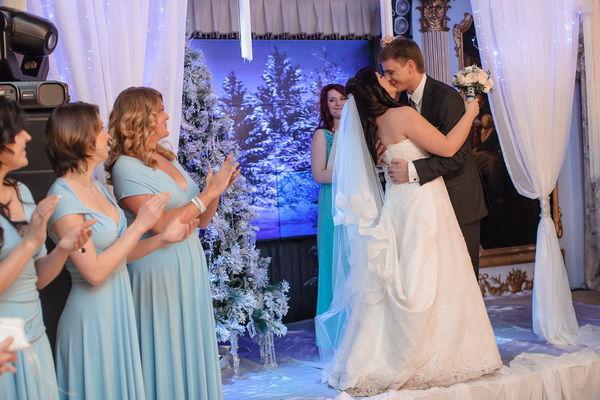 свадьба зимняя сказка