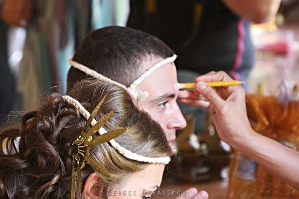символическая свадебная церемония в тайланде
