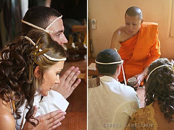 свадебная церемония в храме