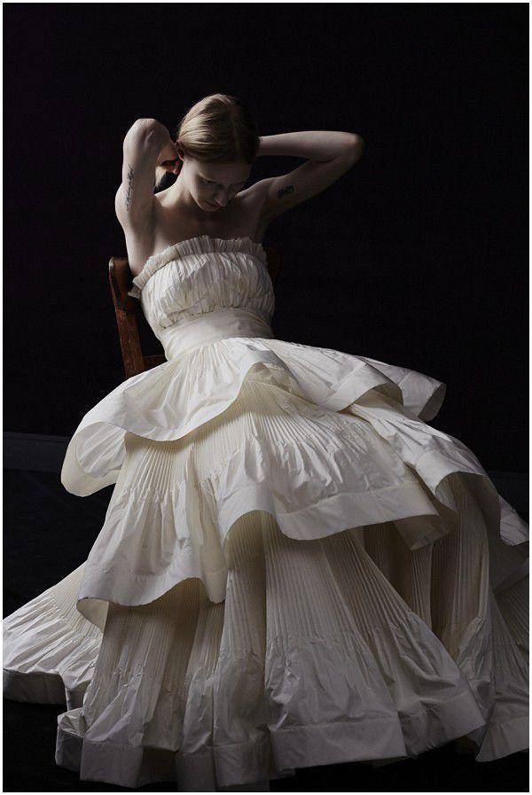 свадебное платье Lanvin