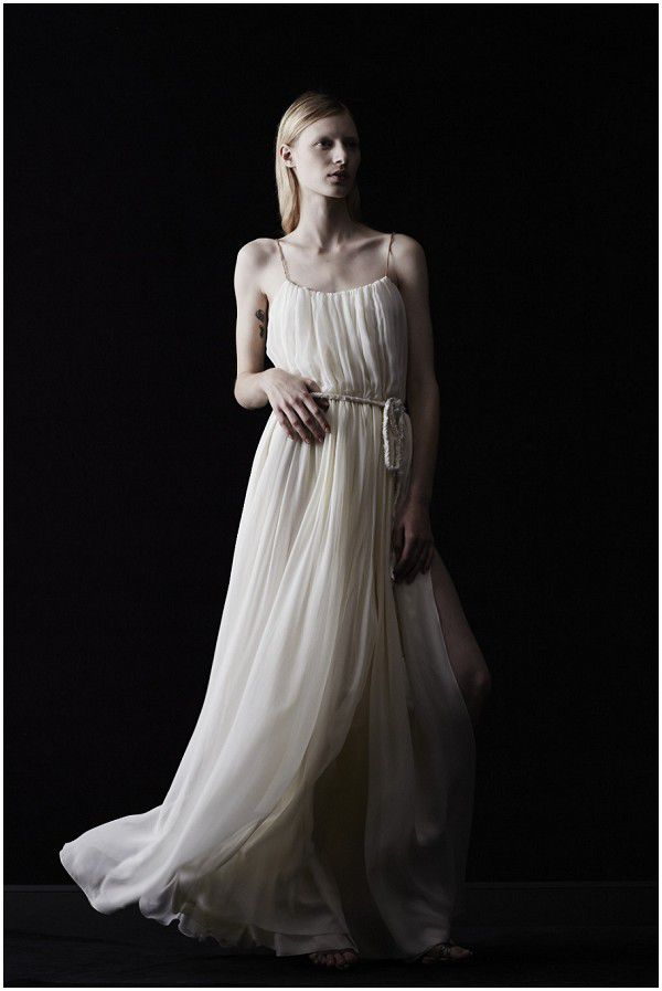 греческие свадебные платья 2014