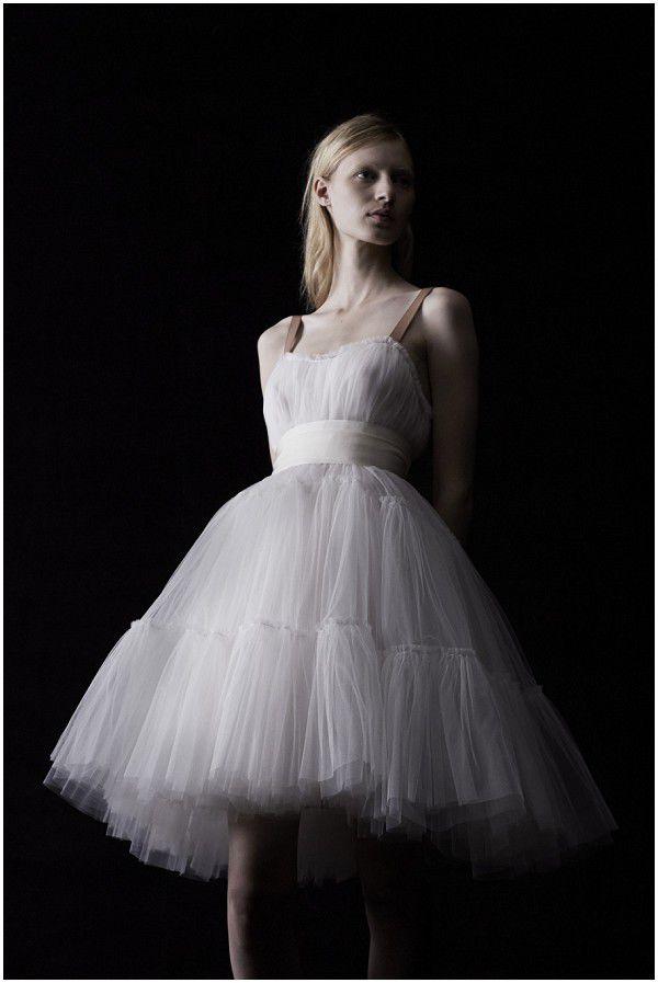 свадебные платья балерина