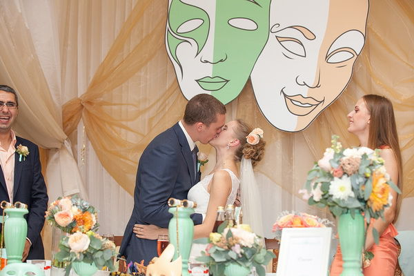 свадьба в стиле театр
