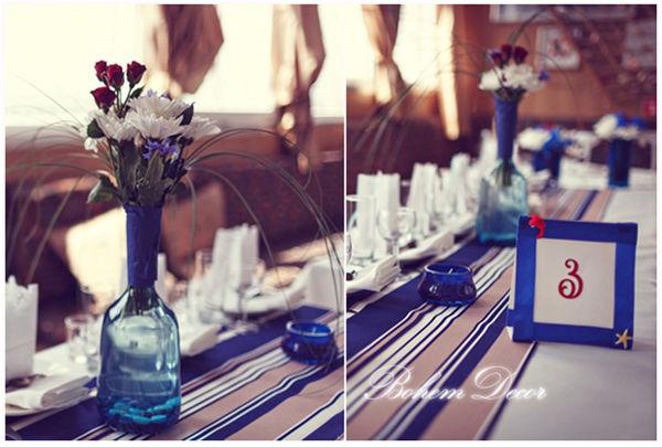 морская тема свадьбы