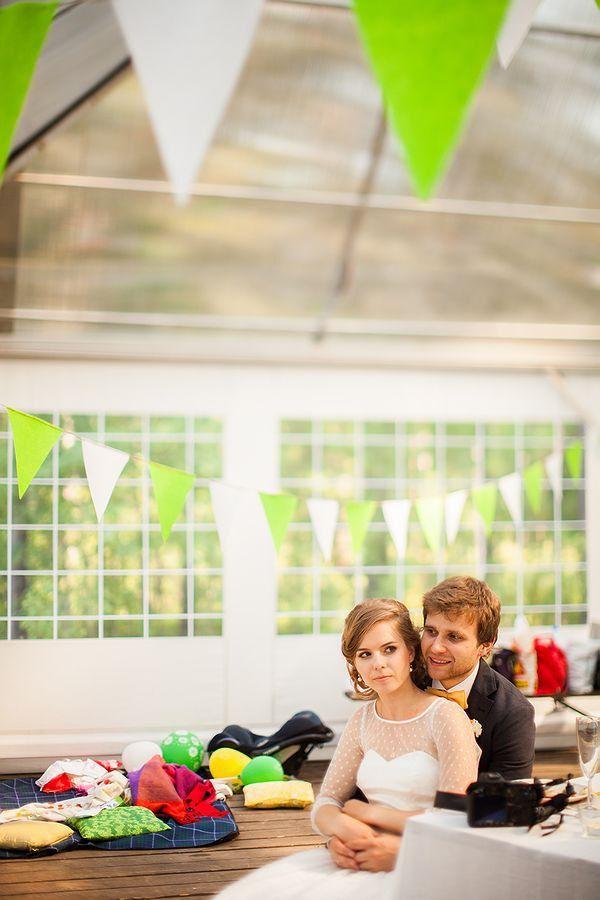 зеленая свадьба оформление
