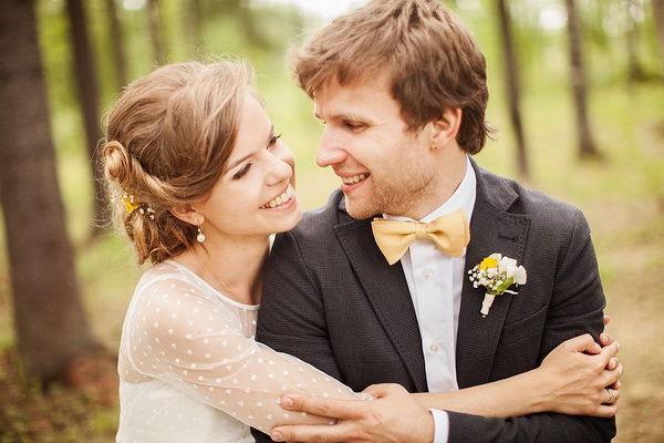 желто зеленая свадьба оформление