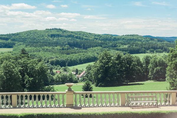 свадьба в замке около Праги
