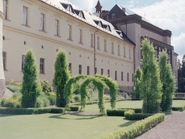свадьба в замке в Праге